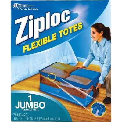 Ziploc Flexible XXL Jumbo 22 Gallon Clothes Storage Bag Tote