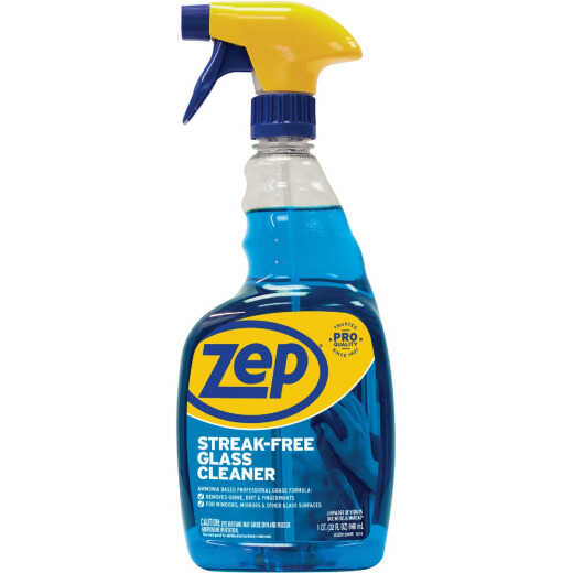 Zep Commercial 32 Oz. Heavy-Duty RTU Glass Cleaner