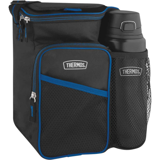 Thermos Stainless King 24 Oz. Bottle with Lunch Cooler