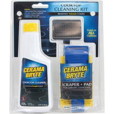 Cerama Bryte Ceramic Cooktop Cleaning Kit