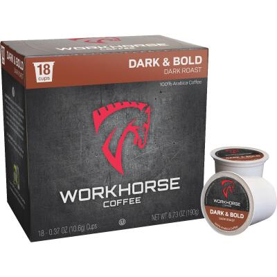 Workhorse Dark & Bold Coffee Pod (18-Count)