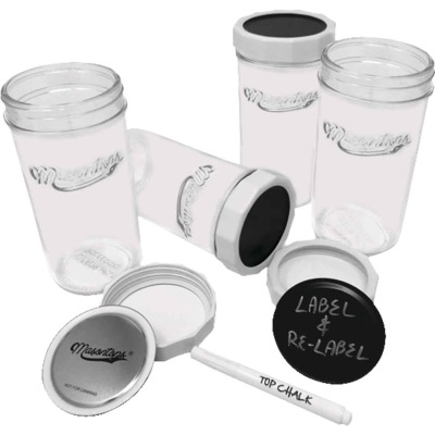 Masontops 24 Oz. All-Purpose Jar (4-Pack)