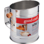 Goodcook 3-Cup Tin Sifter Image 1