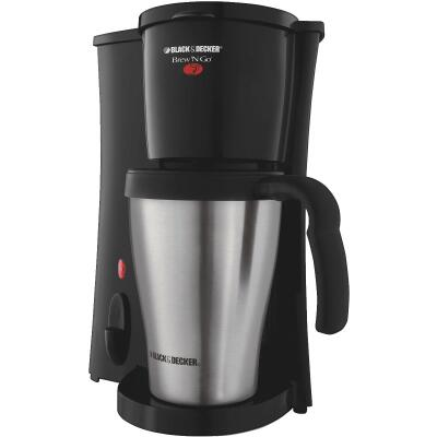 Black & Decker Brew N' Go Personal Black Coffee Maker