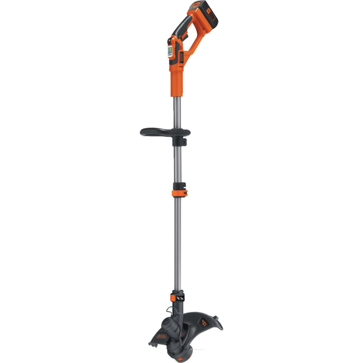 Black & Decker 40V MAX 13 In. Lithium Ion Straight Cordless String Trimmer Image 1