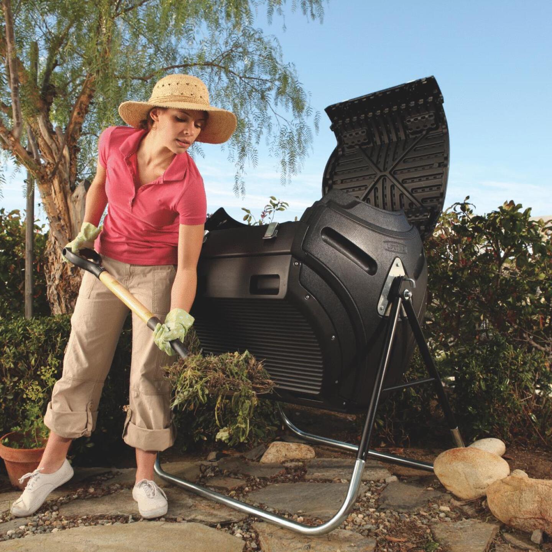 Lifetime Rotating Composter (80-Gallon) Image 2