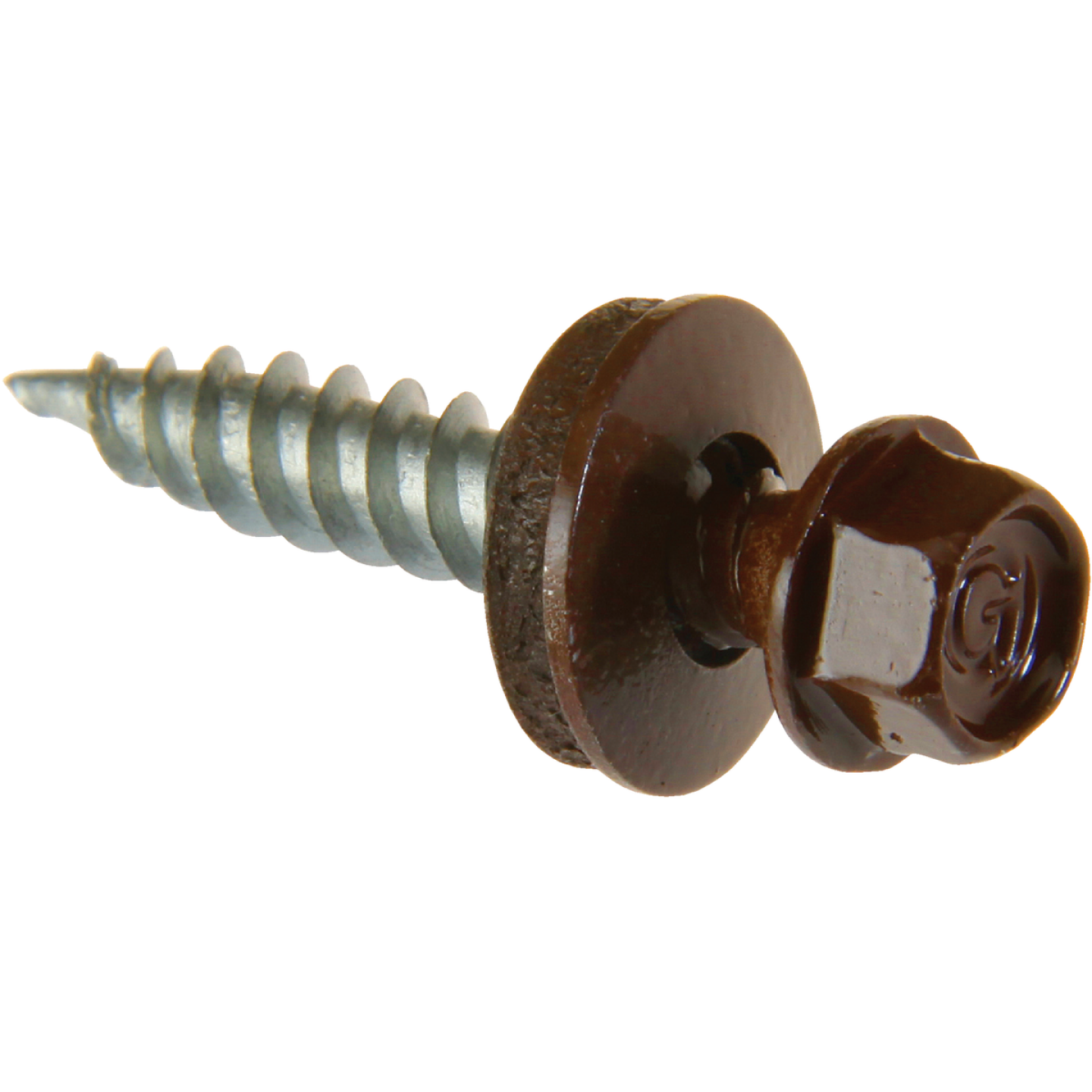 Do it #9 x 1-1/2 In. Hex Washered Brown Framing Screw (250 Ct.) Image 1