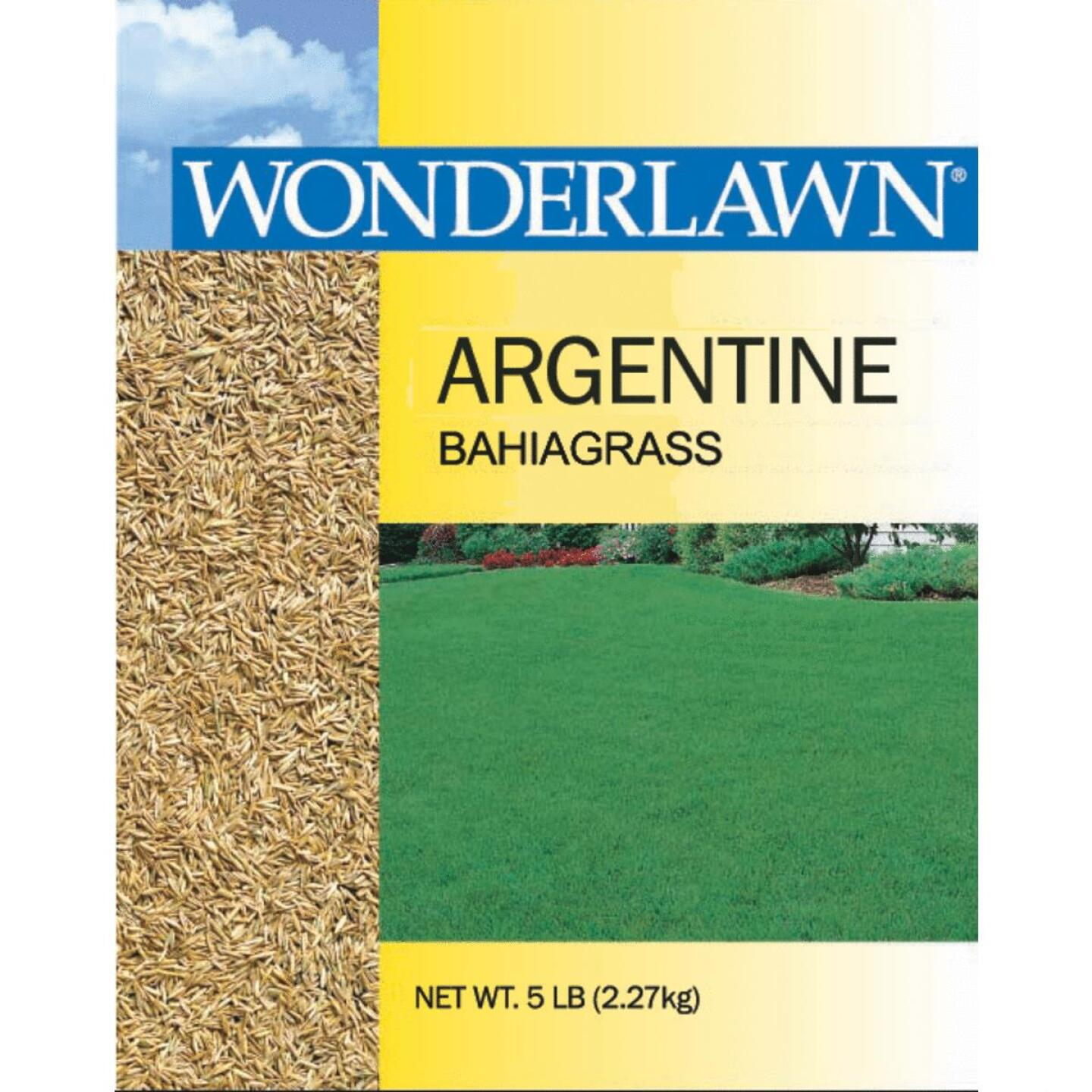 Wonderlawn 5 Lb. 1125 Sq. Ft. Coverage 100% Argentine Bahiagrass Grass Seed Image 1