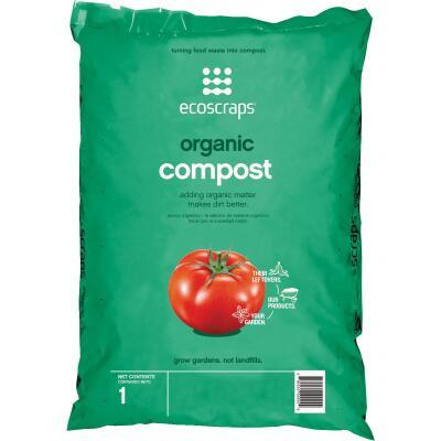 Ecoscraps 1 Cu. Ft. Organic Lawn & Garden Compost