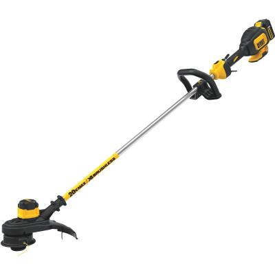 DeWalt 20V MAX 13 In. Lithium Ion Straight Cordless String Trimmer