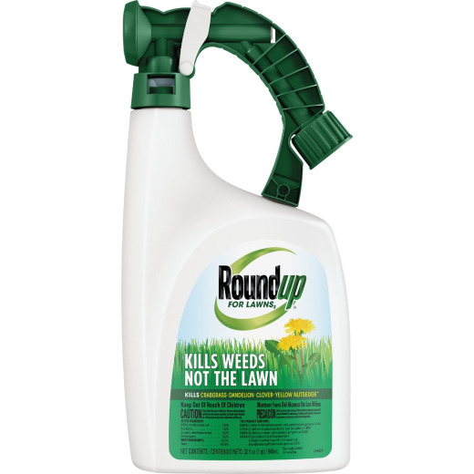 Roundup For Lawns 32 Oz. Ready To Spray Northern Formula Weed Killer