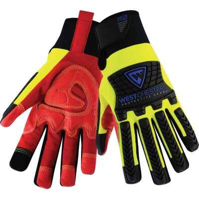 West Chester Protective Gear R2 Performance Series Men's Large Synthetic Work Glove