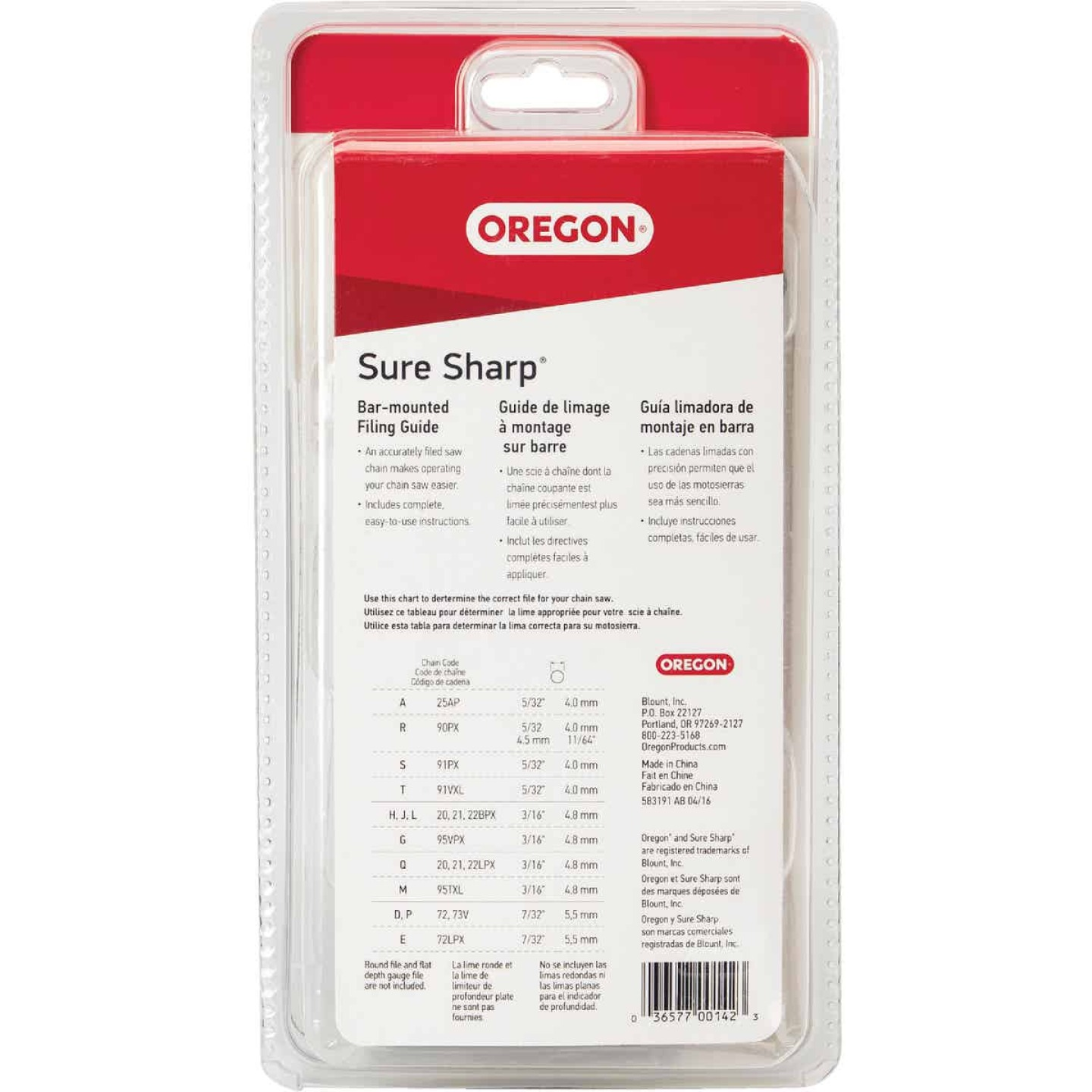 Oregon Sure Sharp Saw Chain Sharpener Image 2