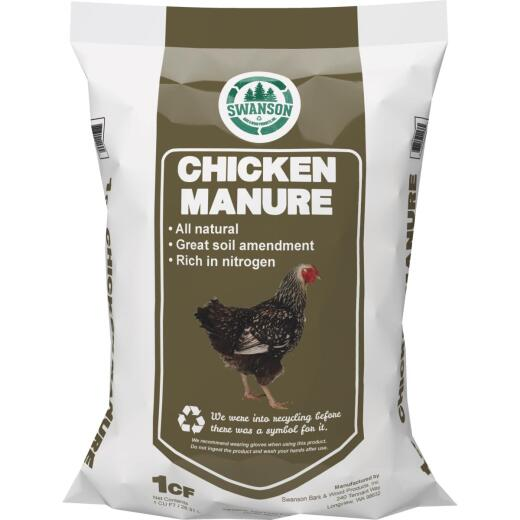 Swanson 1 Cu. Ft. Chicken Manure