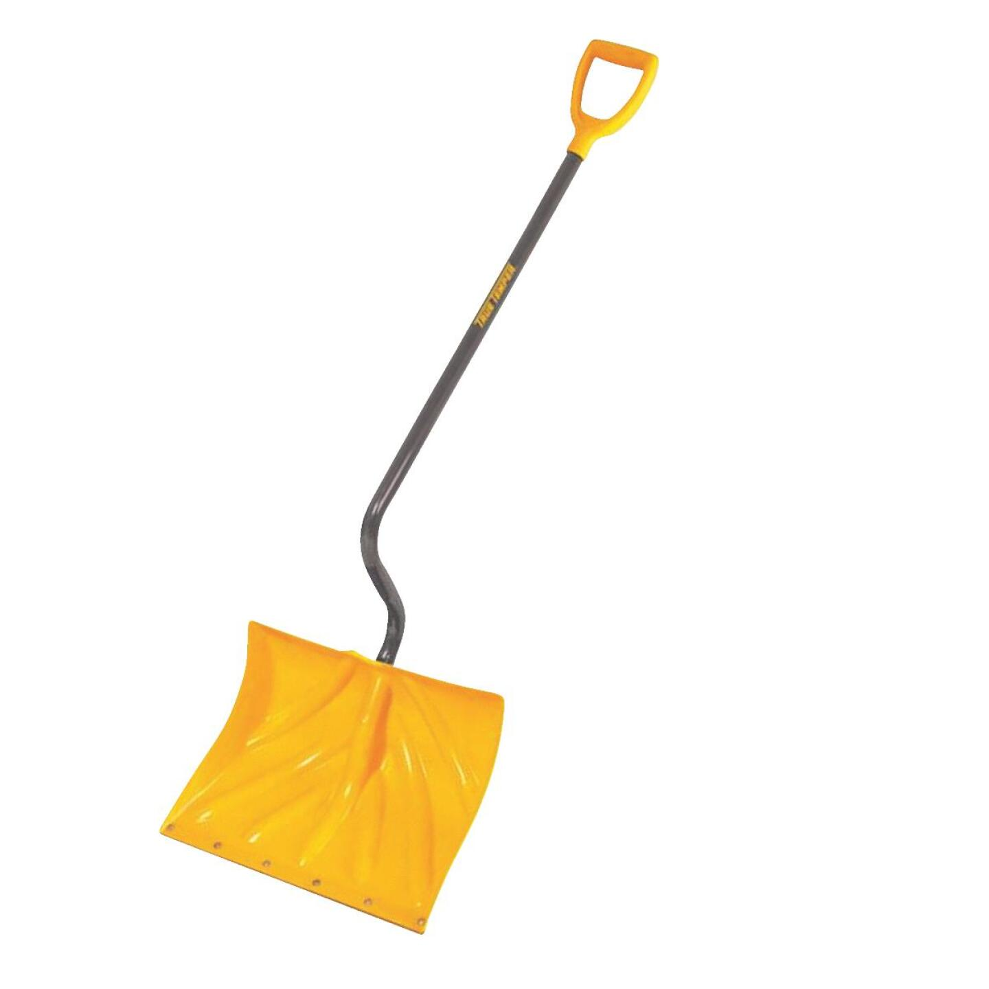 True Temper 18 In. Poly Snow Shovel with 40 In. Steel Handle Image 1