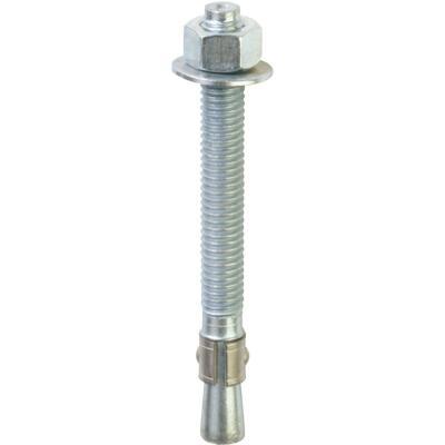 Red Head 1/2 In. x 5-1/2 In. Zinc Wedge Anchor Bolt