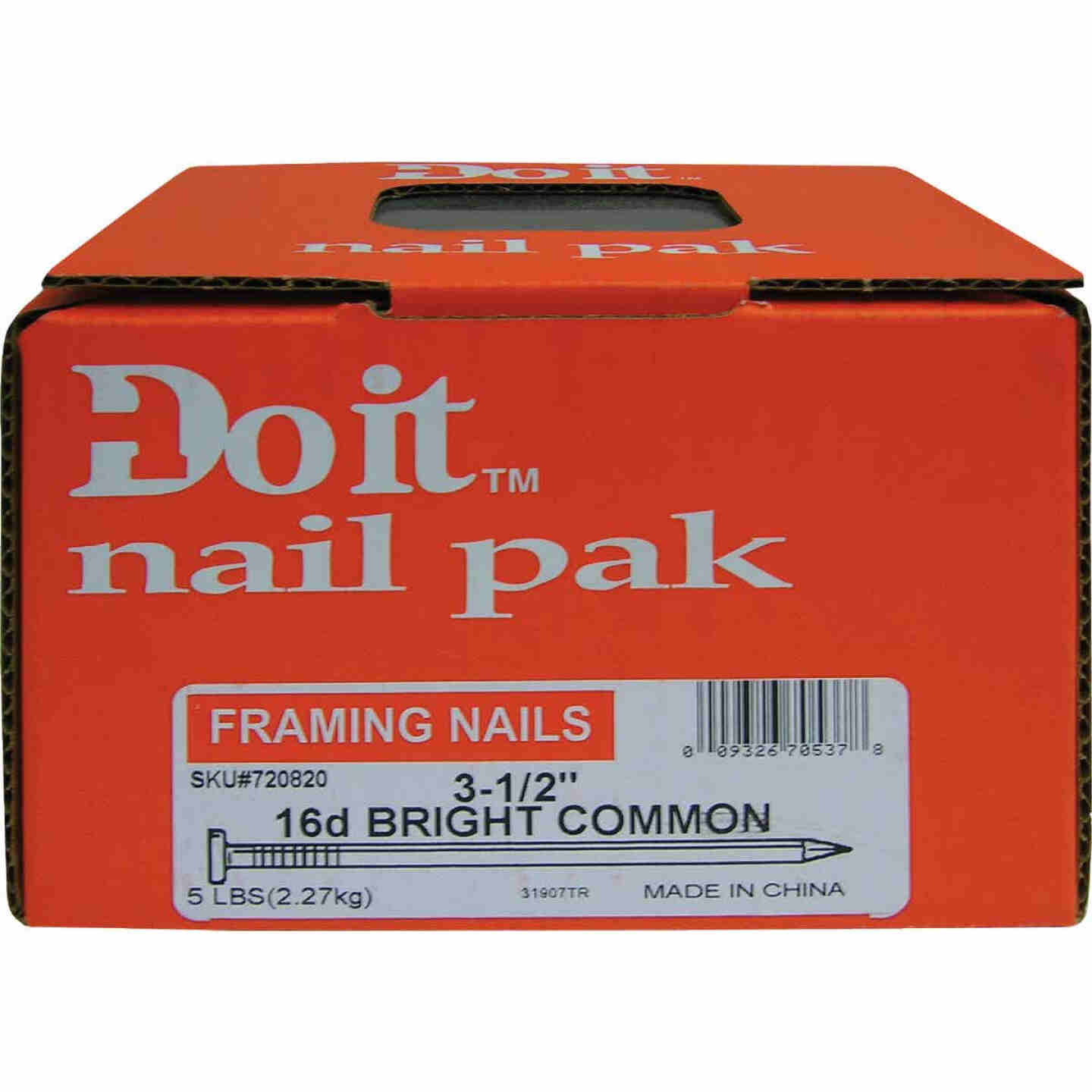 Do it 16d x 3-1/2 In. 8 ga Bright Common Nails (235 Ct., 5 Lb.) Image 2