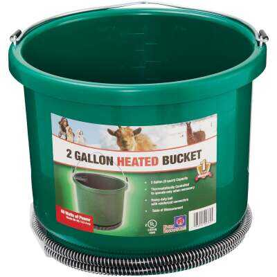 Farm Innovators 2 Gal. 60W 120V Heated Bucket