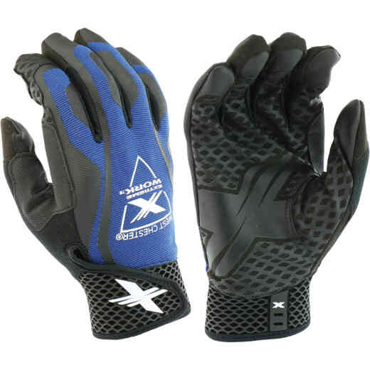 West Chester Protective Gear Extreme Work LocX-On Grip Men's Large Synthetic Leather Work Glove