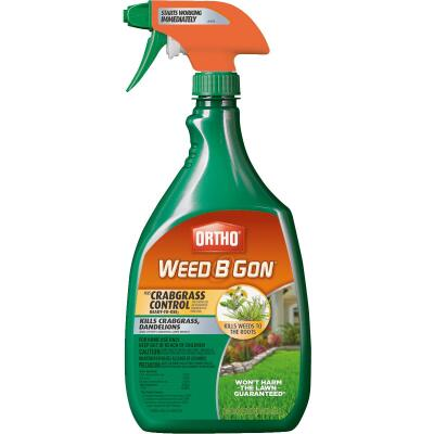 Ortho Weed B Gon 24 Oz. Ready To Use Trigger Spray Crabgrass & Weed Killer