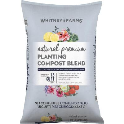 Whitney Farms Natural Premium 1.5 Cu. Ft. Lawn & Garden Compost