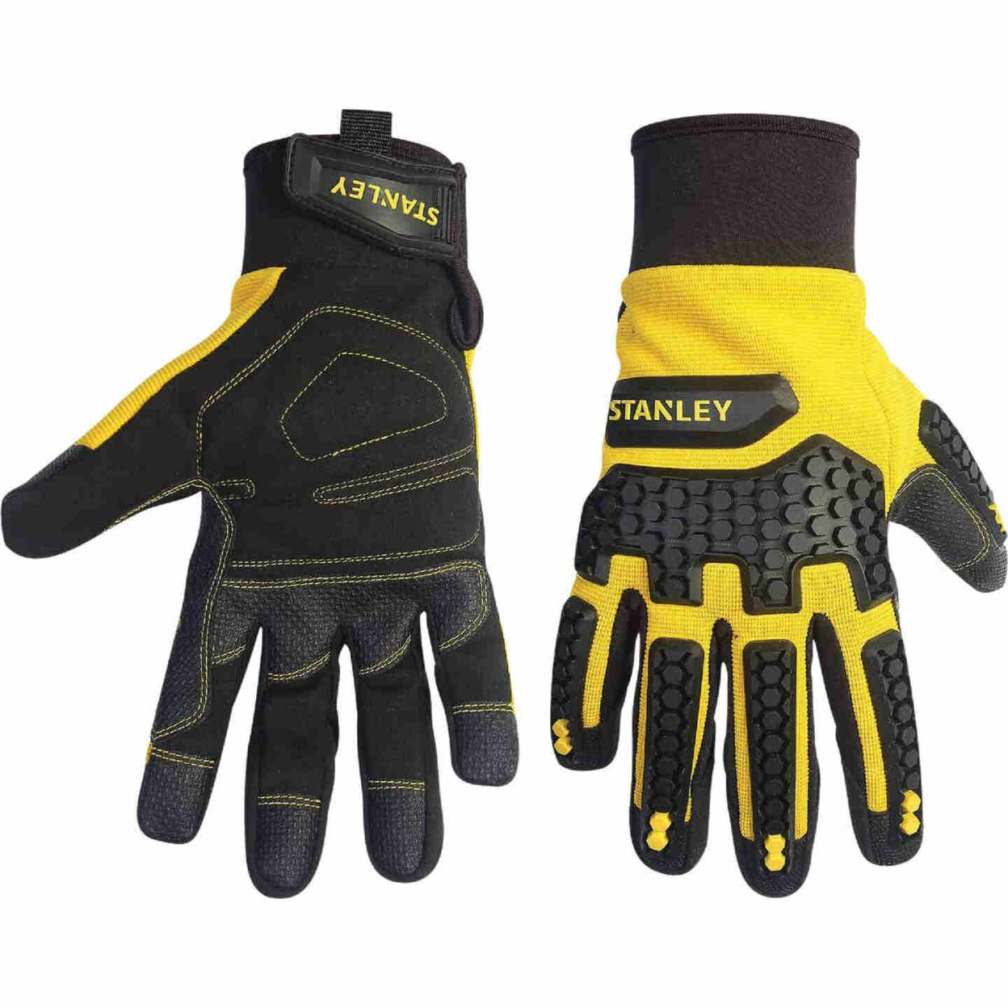Stanley Impact Pro Men's Medium Synthetic Leather High Performance Glove Image 1