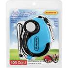 Westminster Pet Ruffin' it Palm Comfort Up to 30 Lb. 10 Ft. Cord Retractable Leash Image 1
