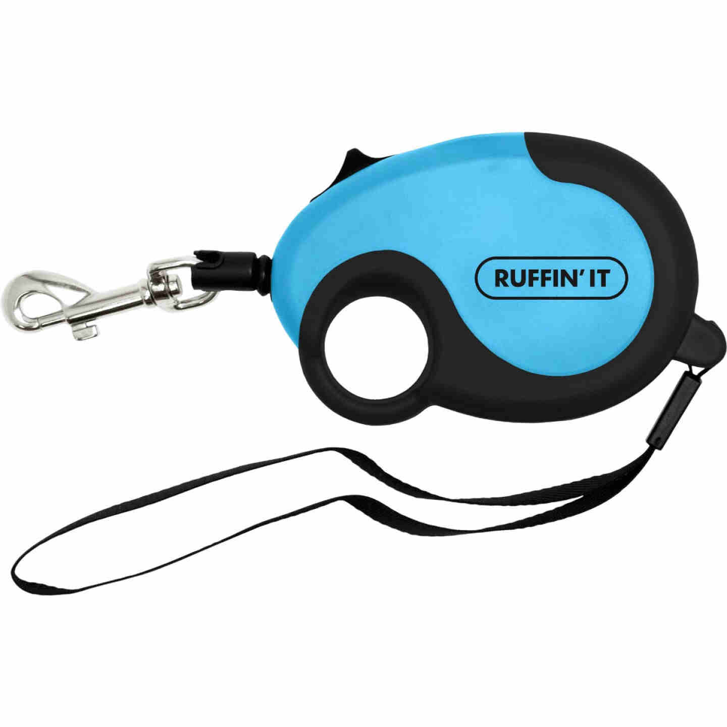 Westminster Pet Ruffin' it Palm Comfort 10 Ft. Cord Up to 30 Lb. Dog Retractable Leash Image 2