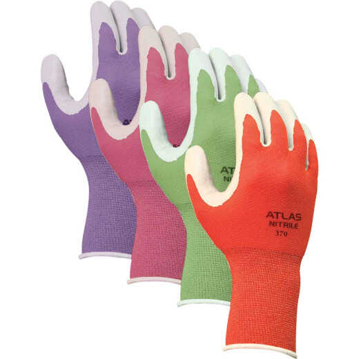 Showa Atlas Women's Small Nitrile Coated Garden Glove