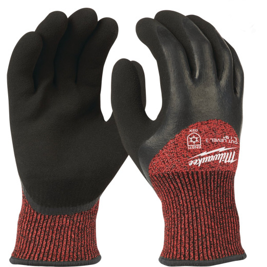 Milwaukee Men's L Latex Coated Cut Level 3 Insulated Work Glove