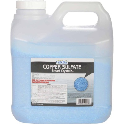 Crystal Blue 15 Lb. Copper Sulfate Smart Crystals 6-Acre Coverage Area Moss & Algae Killer