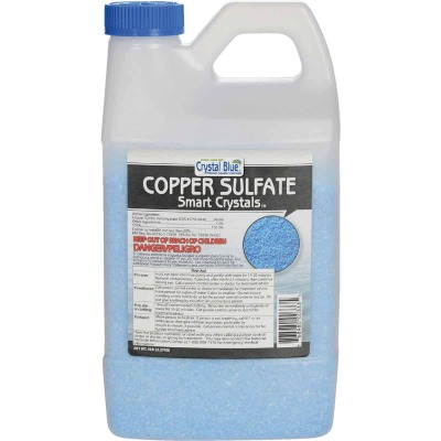 Crystal Blue 5 Lb. Copper Sulfate Smart Crystals 1-Acre Coverage Area Moss & Algae Killer