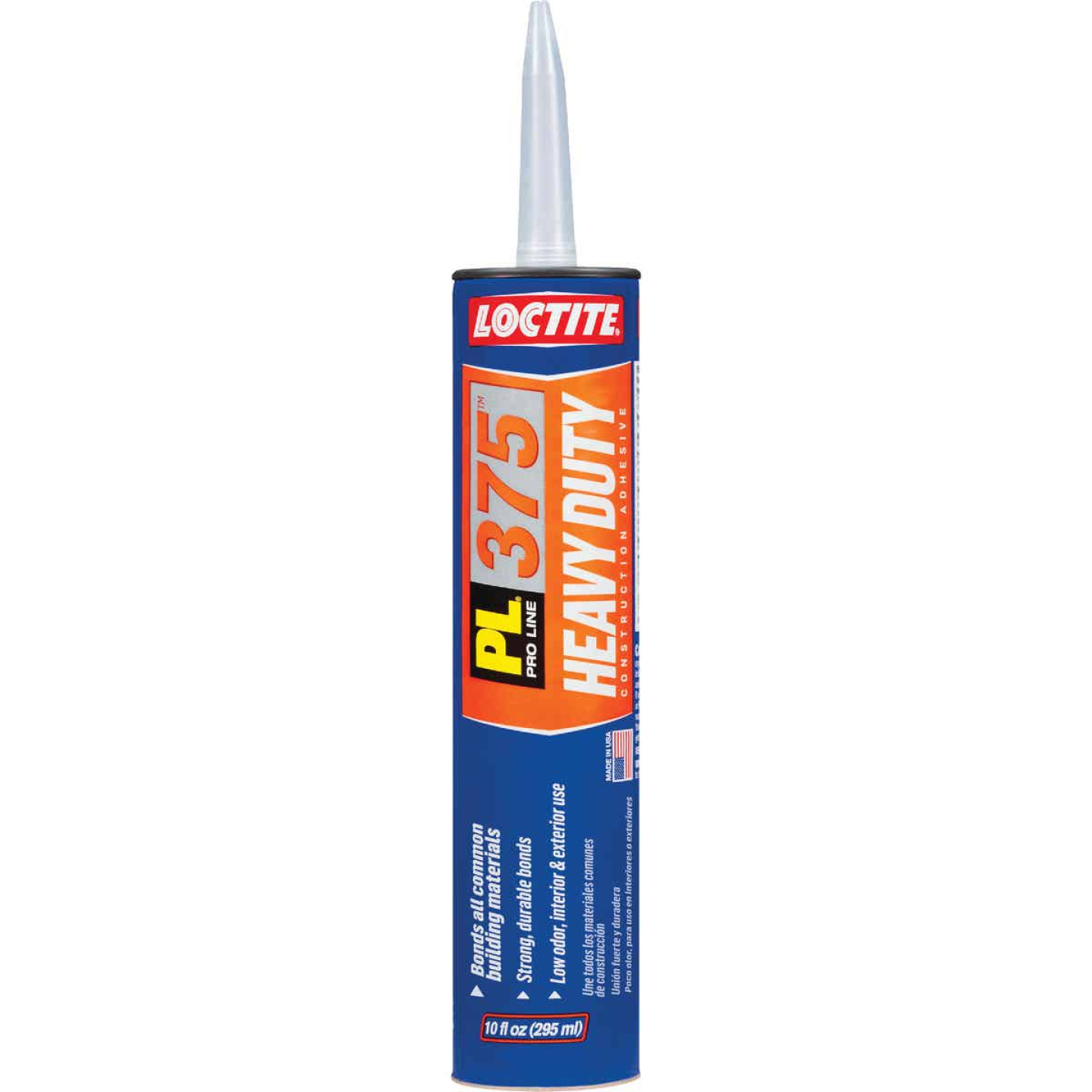 LOCTITE PL 375 10 Oz. Heavy Duty Construction Adhesive Image 1