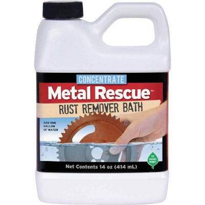 Metal Rescue 14 Oz. Rust Remover Bath Concentrate