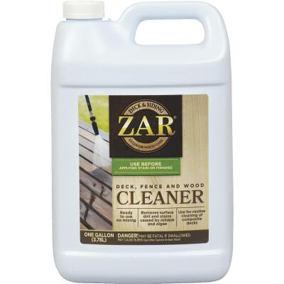 ZAR 1 Gal. Deck, Fence & Wood Cleaner