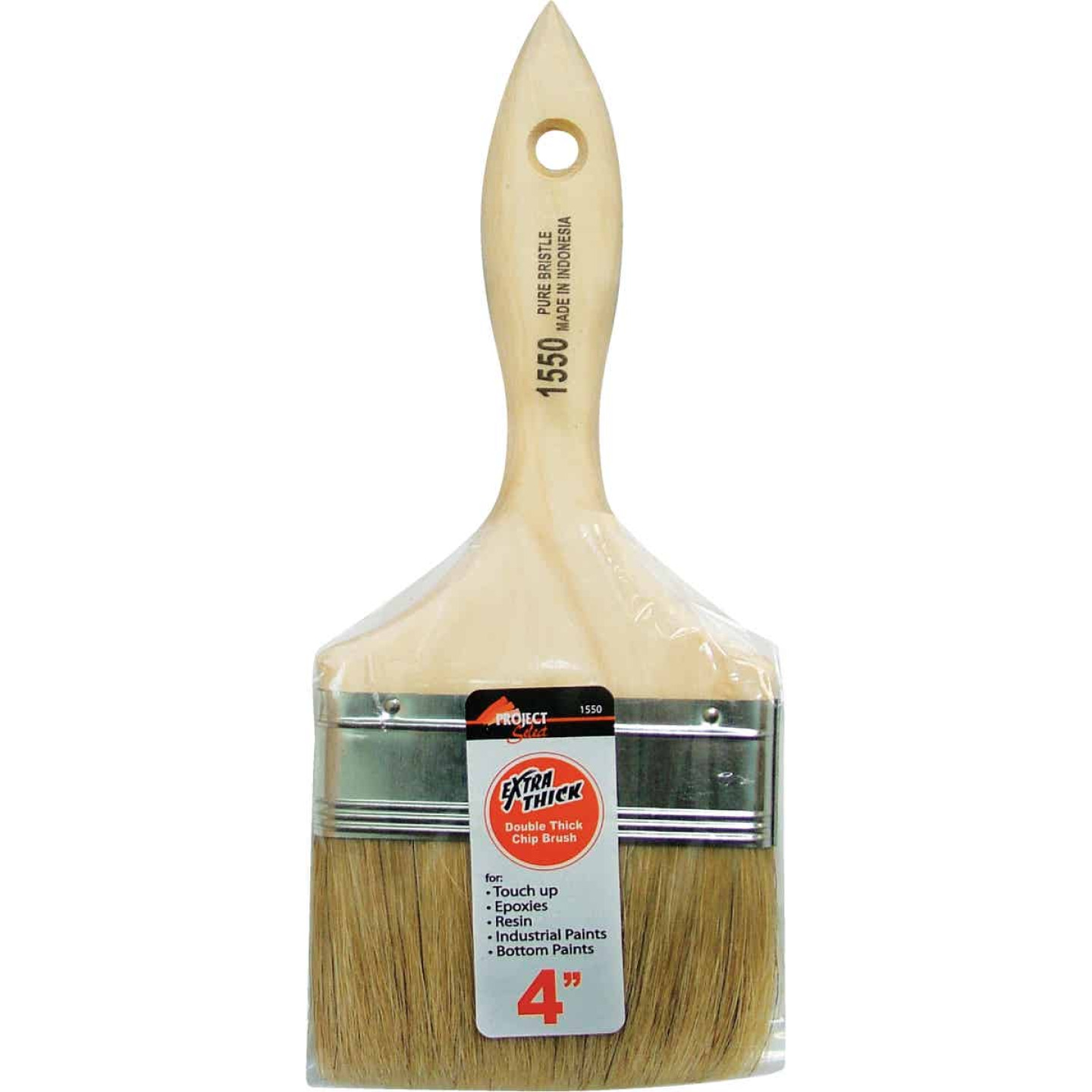 Project Select 4 In. Double Thick Chip Paint Brush Image 1