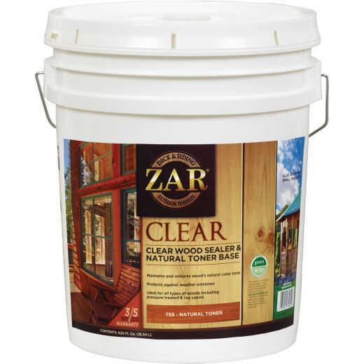 Zar 5 Gal. Deck & Siding Clear Wood Sealer & Stain