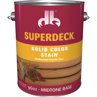Duckback SUPERDECK Self Priming Solid Color Stain, Midtone Base, 1 Gal