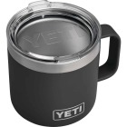 Yeti Rambler 14 Oz. Black Stainless Steel Insulated Mug Image 1