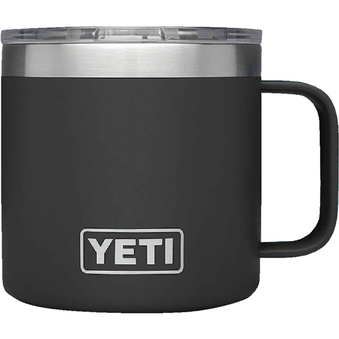 Yeti Rambler 14 Oz. Black Stainless Steel Insulated Mug Image 2