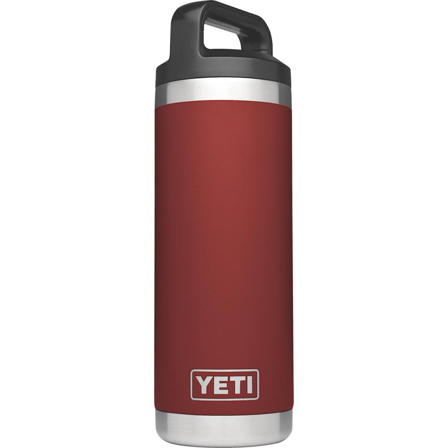 Yeti Rambler 18 Oz. Brick Red Stainless Steel Insulated Vacuum Bottle Image 1