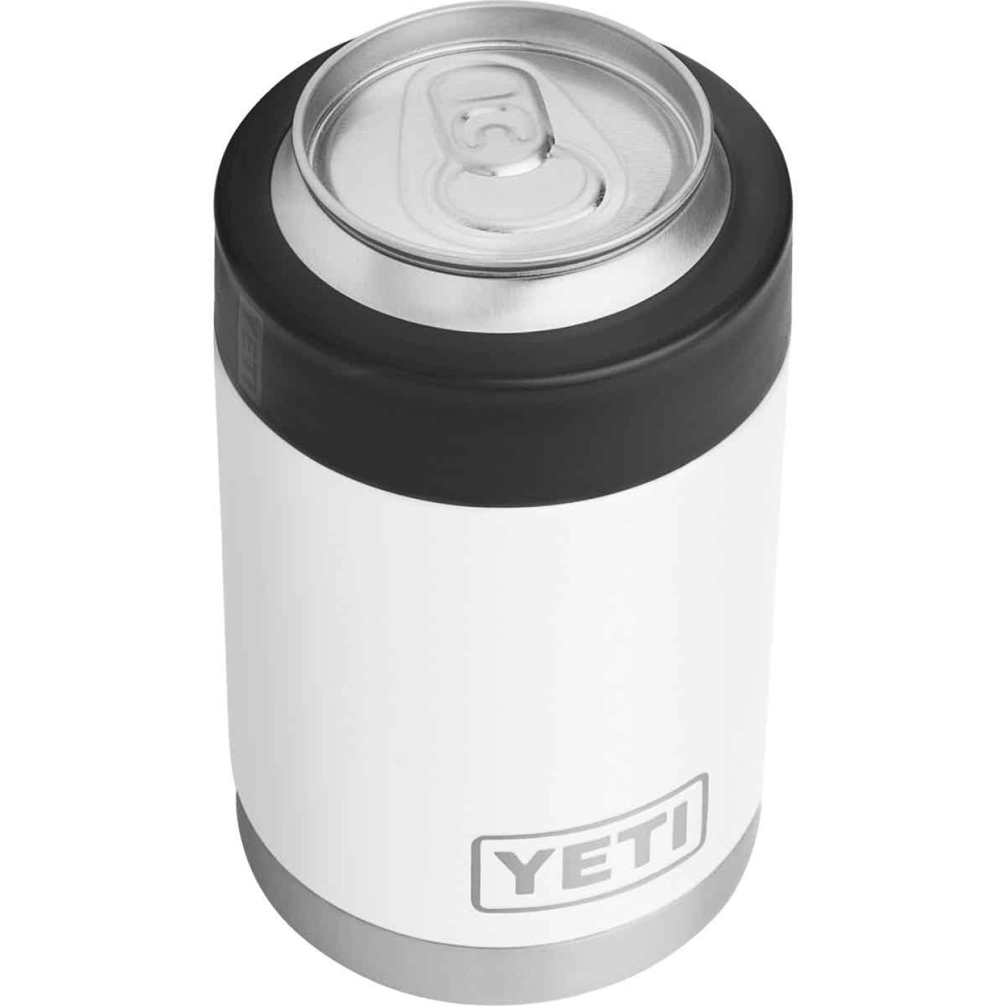 Yeti Rambler Colster 12 Oz. White Stainless Steel Insulated Drink Holder Image 3