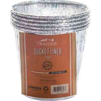 Traeger Aluminum Grease Bucket Liner (5-Pack)