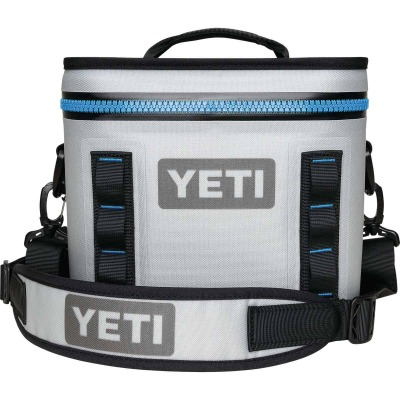 Yeti Hopper Flip 8, 8-Can Soft-Side Cooler, Gray