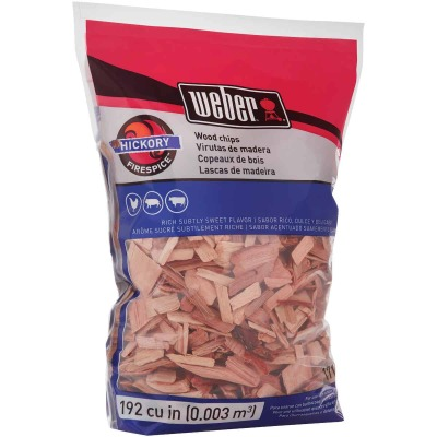 Weber FireSpice 192 Cu. In. Hickory Smoking Chips