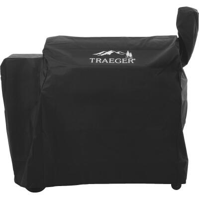 Traeger 34 Series 42 In. Black Polyester Full-Length Grill Cover