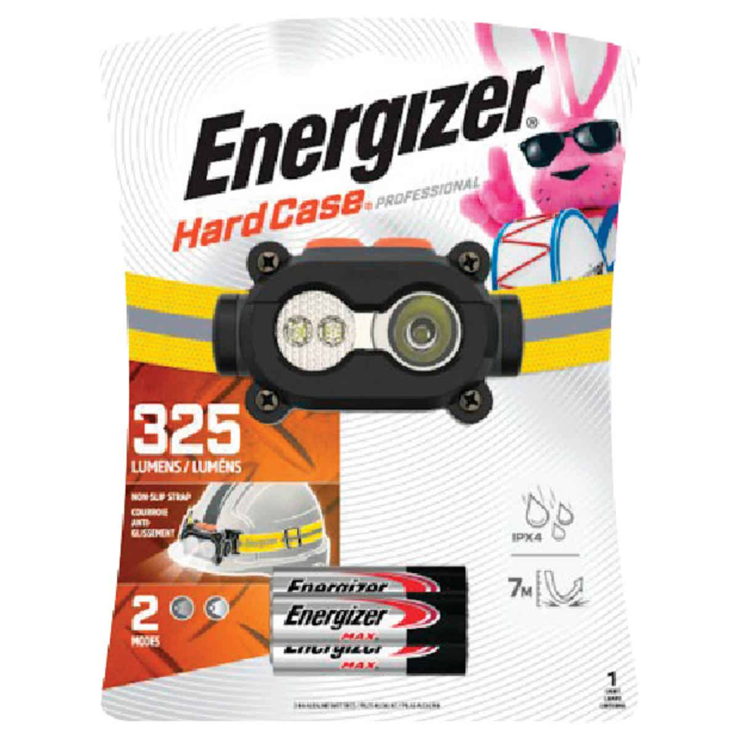 Energizer Hard Case Professional 325 Lm. LED 3AAA Headlamp Image 1