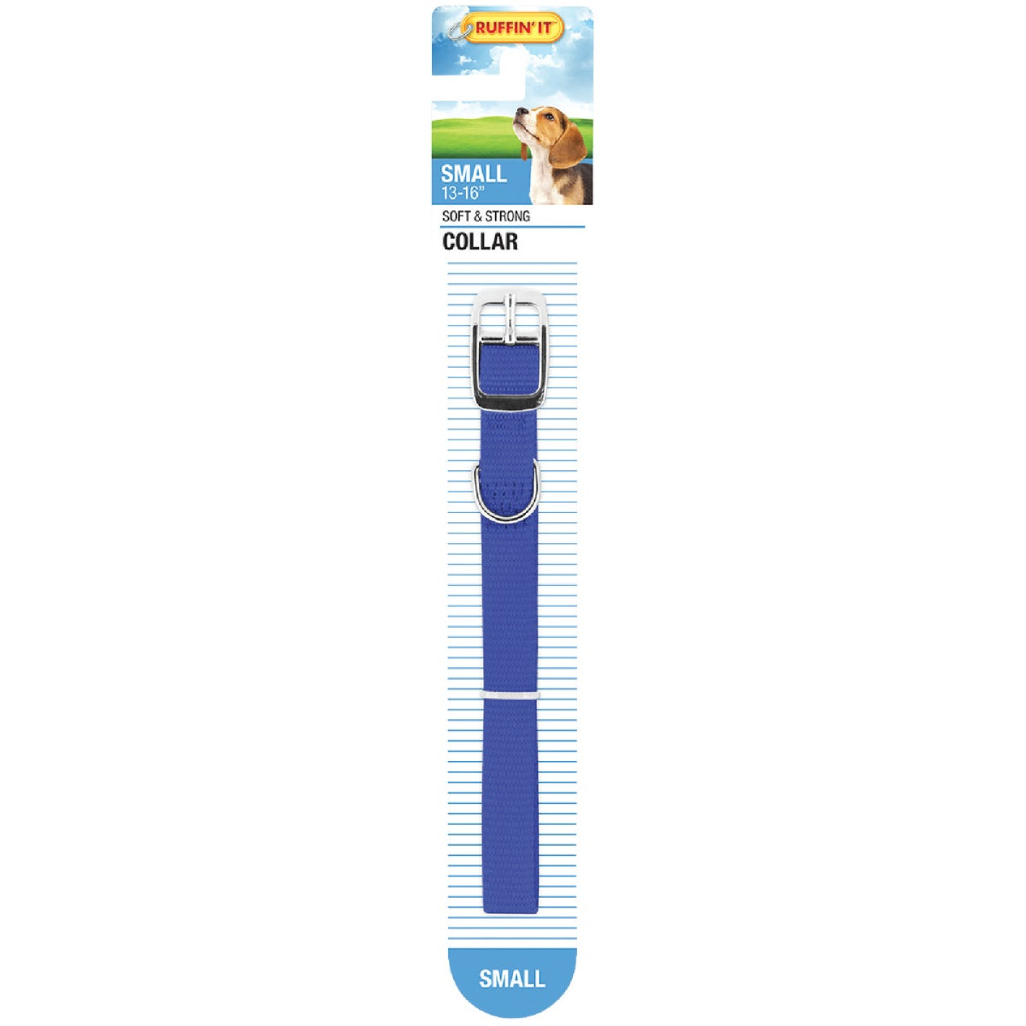 Westminster Pet Ruffin' it Adjustable 16 In. Nylon Dog Collar Image 3