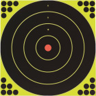 Birchwood Casey Shoot-N-C 12 In. Sighting Adhesive Paper Bulls-Eye Target Image 1