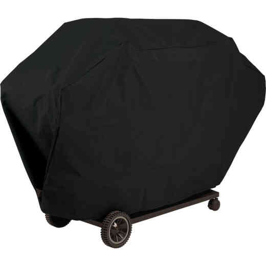 GrillPro 60 In. Black PVC Deluxe Grill Cover